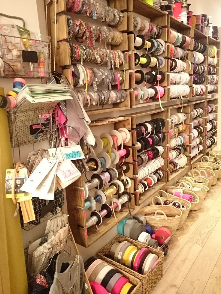24 rue mayet Paris 6.  Dreamy ribbon shop