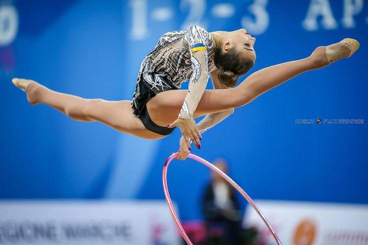 Victoria Mazur (Ukraine), World Cup (Pesaro) 2016