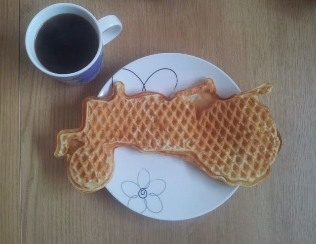 Gunns momsemat: Grandma's waffles- Vafler fra Moods of Norway