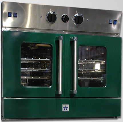 double ovens side by side kitchens | The 30 inch gas wall oven features full extension oven racks, high ...