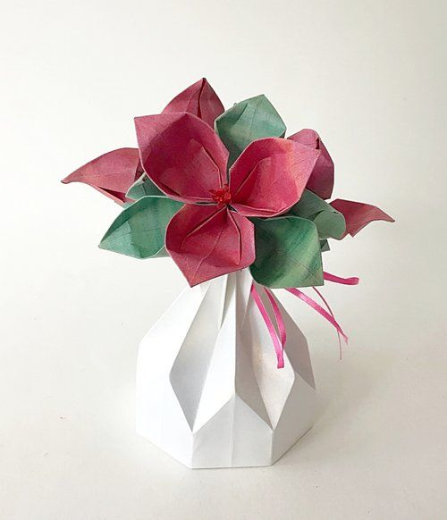 62 best small origami flower arrangements images on pinterest img7066g mightylinksfo