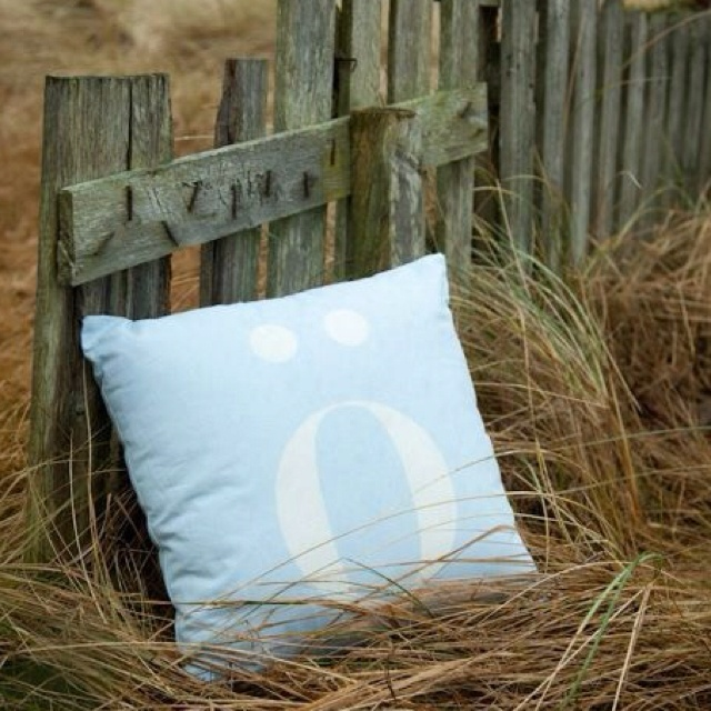 Pillow made by the local Norwgian comp. Søgne Home.