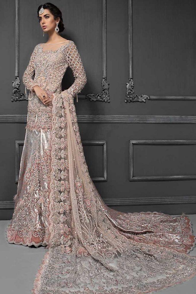 ed382a838c6c9 Pakistani Designer Bridal Dresses Maria B Brides 2019-2020 Collection