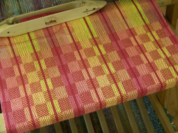 Handwoven Towel Dish Tea Kitchen Hand Bread Guest by KnitSpinLove