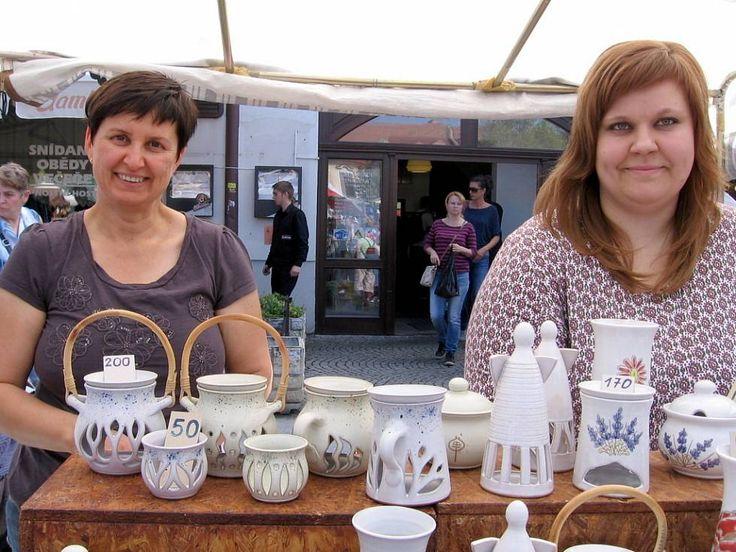 Berounské Hrnčířské trhy 2015