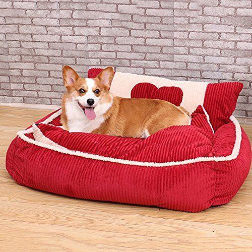 Hundebett Haus Sofa Matratze Kissen Schlafsack Medium Kleine Hunde Best Pet Supp…