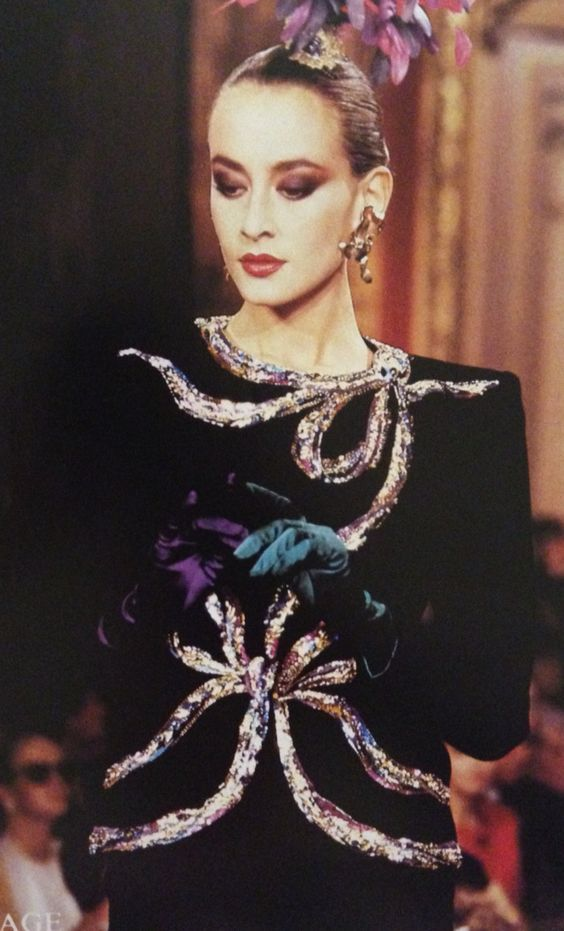 1987 88 yves saint laurent couture show www for The history of haute couture