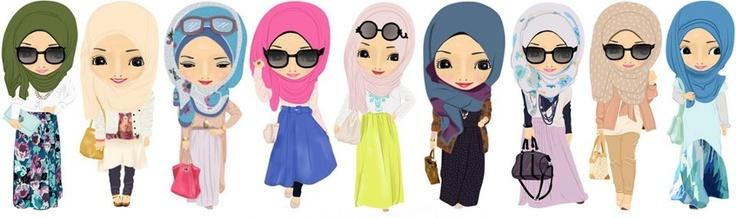 #hijab #cartoon