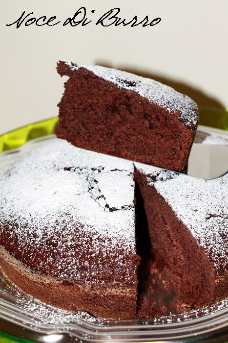 Torta+al+cacao+con+panna+e+scorza+d'+arancia
