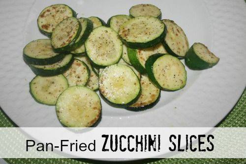 Pan Fried Zucchini Recipe – an easy and healthy 10 minute Side Dish