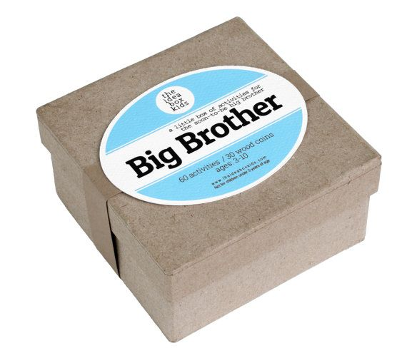 Big Brother Activities Gift for Big Brother Gift by theideaboxkids