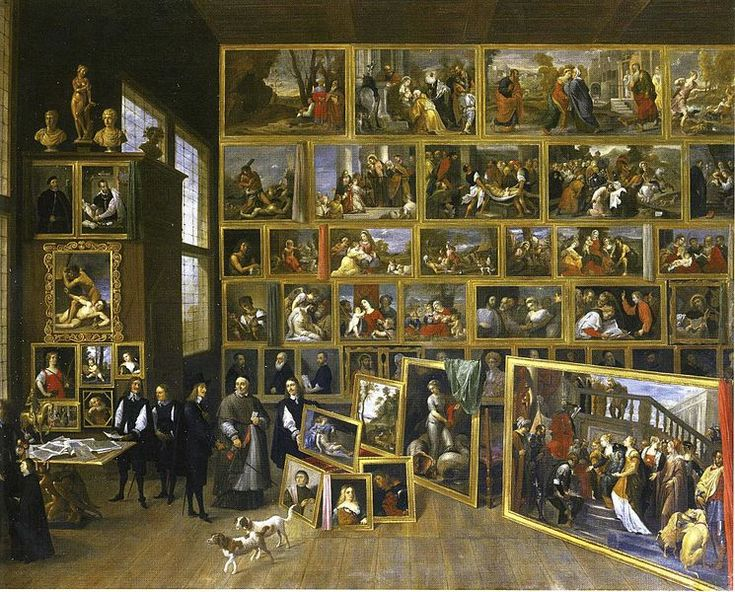 david teniers the younger 16101690 gallery of archduke leopold wilhelm in brussels