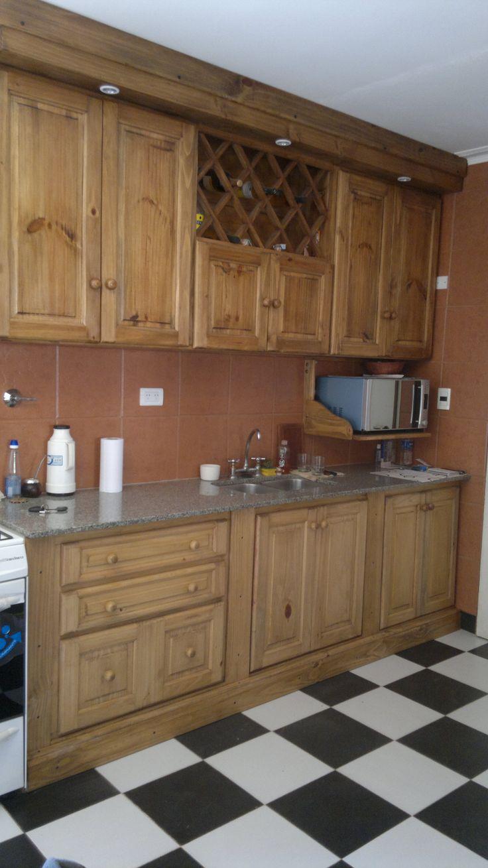 Cocina amoblada con nuestros muebles de cocina.