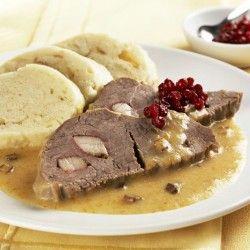 Czech Sirloin Steak in Cream Sauce RECIPE