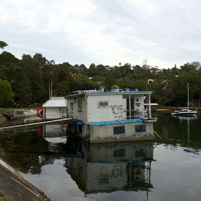 """An extraordinary """"property"""" that is a slice of Sydney's world famous harbour! The houseboat is in demolition condition and replacement will cost a $700,000+ Located at The Spit. For Sale. Contact Sandy Dunne Mosman RE"""