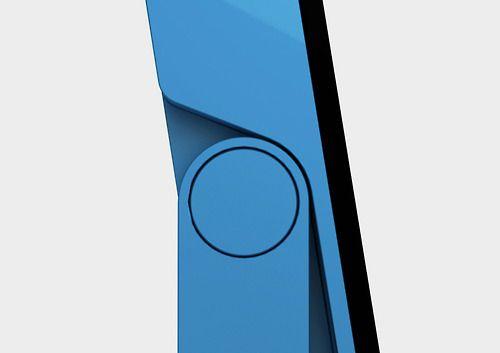details we like / hinge / blue / geometric / at lemanoosh