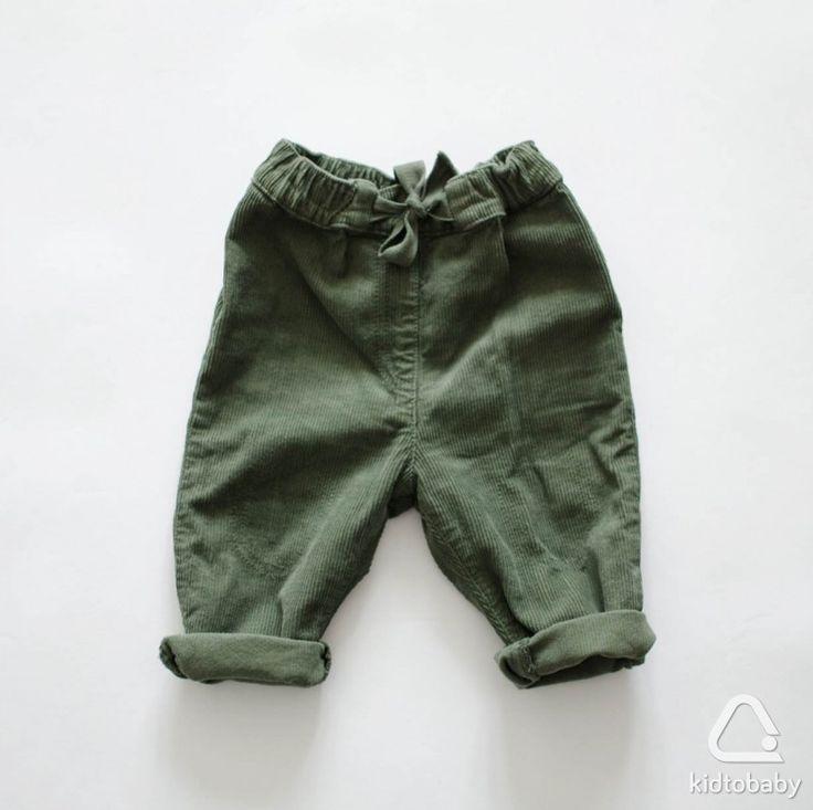 Вельветовые брюки в идеальном состоянии, р.80, 550 ₽🌿