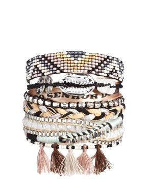 Hipanema Shadow Bracelet via Asos