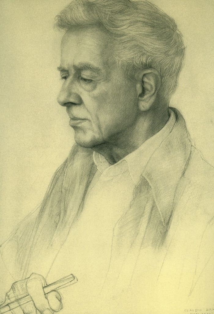 Self Portrait Claudio Bravo 1936-2011