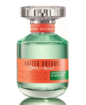 United Dreams Open Your Mind Benetton perfume - a new fragrance for women 2015