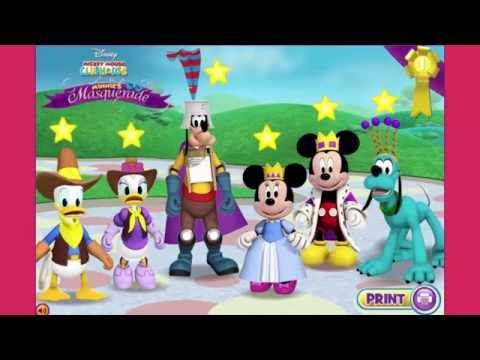 Watch Mickey Mouse Clubhouse Full Episode Games TV - Minnies Masquerade Help Minnie and the rest of the Mickey Mouse Clubhouse get ready! https://www.youtube.com/watch?v=ETj79zC3oB8&feature=youtu.be