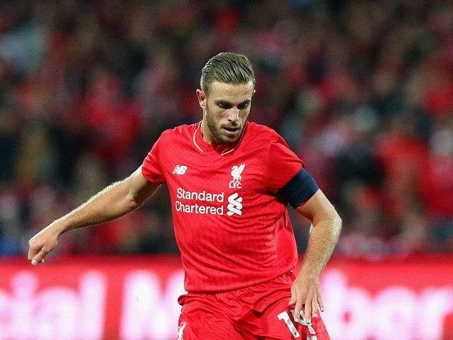 Team News: Liverpool captain Jordan Henderson named on bench for Europa League final