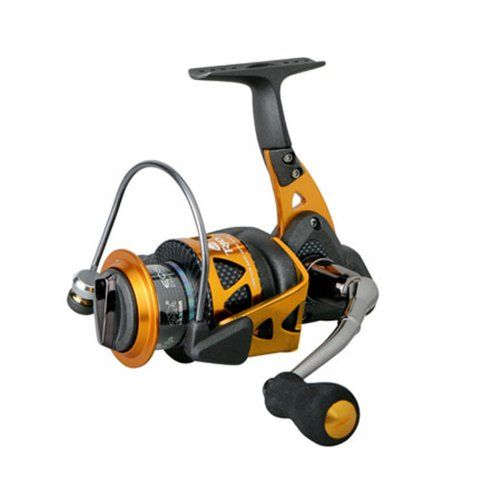 Okuma Trio High Speed Spinning Reel, Blk/Orange, Trio-40S  AwesomeFishingClothing.com