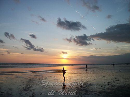 Dapur Italy...di Noer: Sunset at Ocean Beach Bali