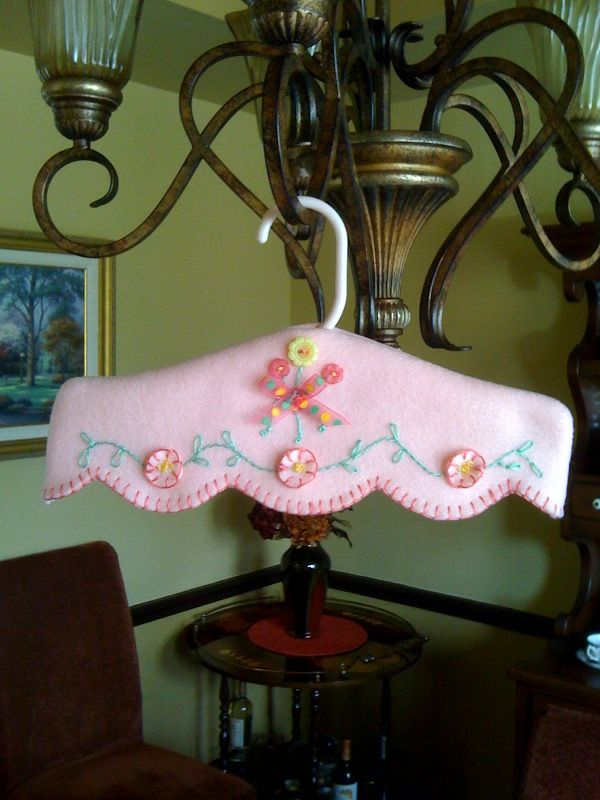 Decorative, and usable dress saver. Easy and fast, makes a nice gift.