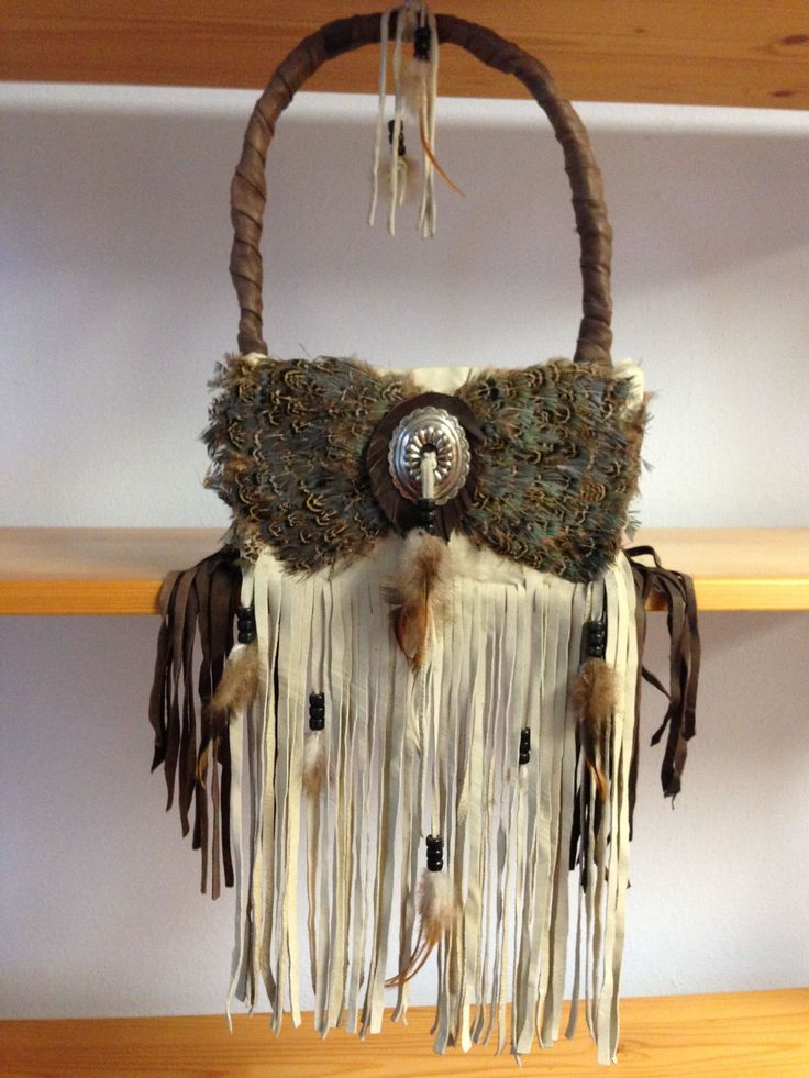 Southwestern Basket Leather Feather Trimmings from Taos N M Unique   eBay