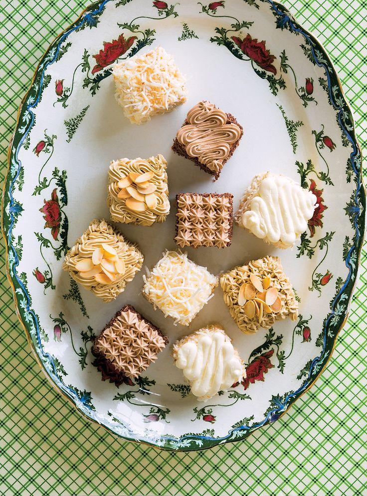 Recette de Ricardo de gâteau moka (en trois saveurs)