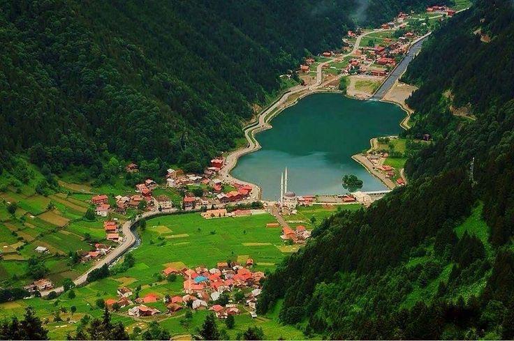 Uzungöl, Trapzon, Turkey