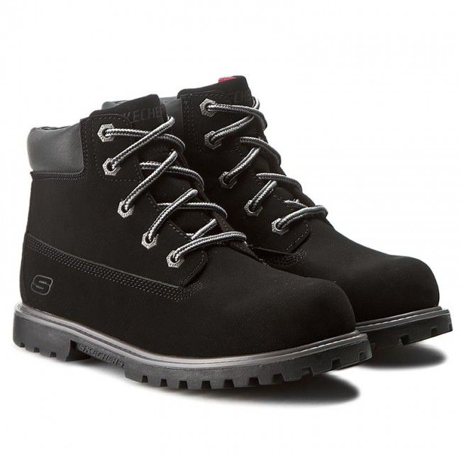 Turistická obuv SKECHERS - Mitigate 93163L/BLK Black