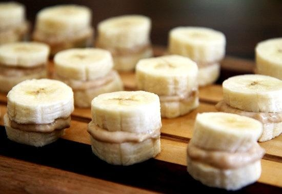 Frozen Banana and Peanut Butter Recipe. A fun and healthy snack!