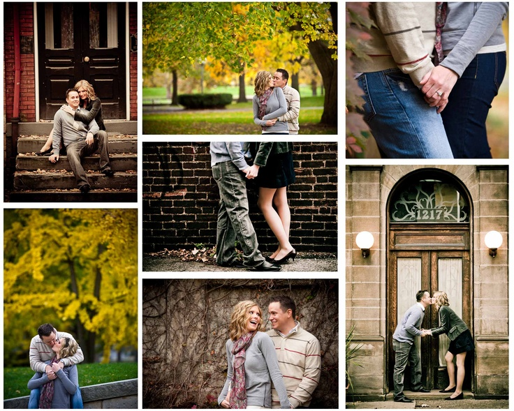 Engagement shoot collage - Craig Photography is awesome:)
