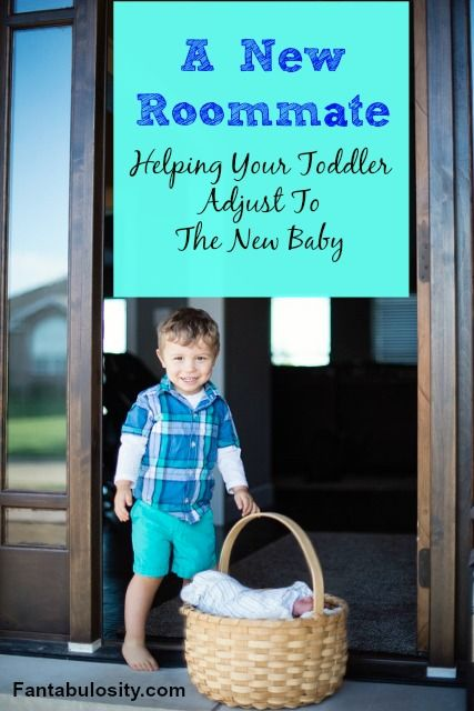 Tips for helping your toddler adjust to the new baby