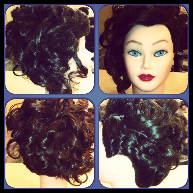 This look is a combinations of loose curls, pined curls, and a fun side braid! Perfect for that person who loves to play with styles or just has a lot of ideas and wishes to tie all those ideas together.