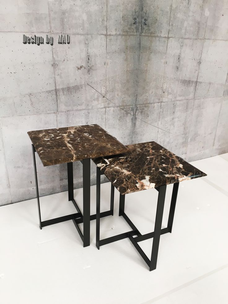 NEST TABLE MARBLE TOP