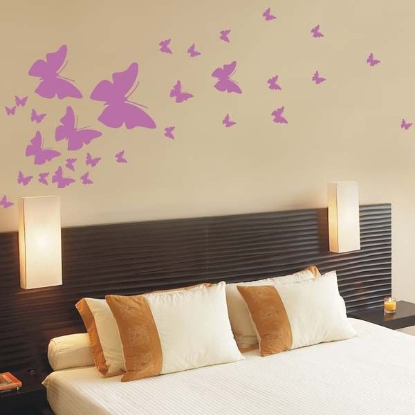 17 best images about butterfly wall decals on pinterest for Butterfly design on wall
