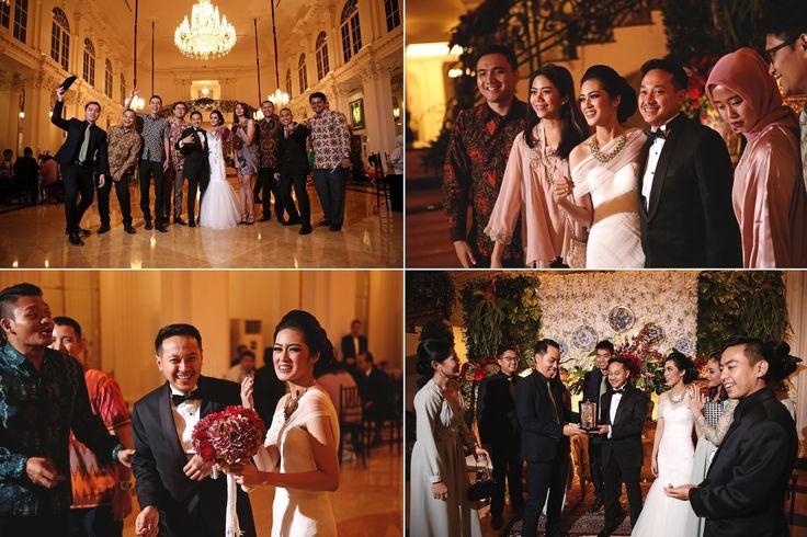 A Classy Wedding at Teuku Umar Mansion -