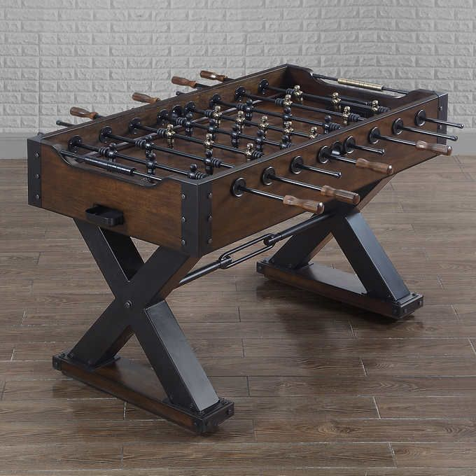 For The Family 379 In Costco Store Vintage Foosball Table Foosball Table Shuffleboard Table Foosball Tables