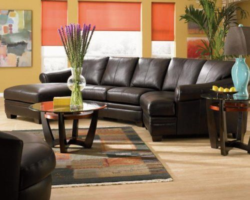 17 best images about sectional room colors on pinterest for Bellagio 100 leather chaise