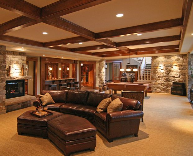 Luxury basements a collection of design ideas to try for Home basement design ideas