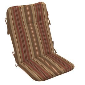 Allen + Roth Chili Stripe Cushion For Adirondack Chair Ab13725b