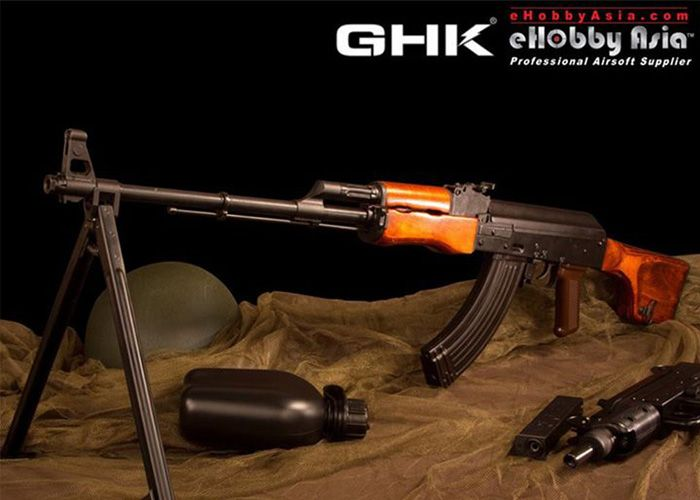 GHK RPK GBB Now At eHobby Asia