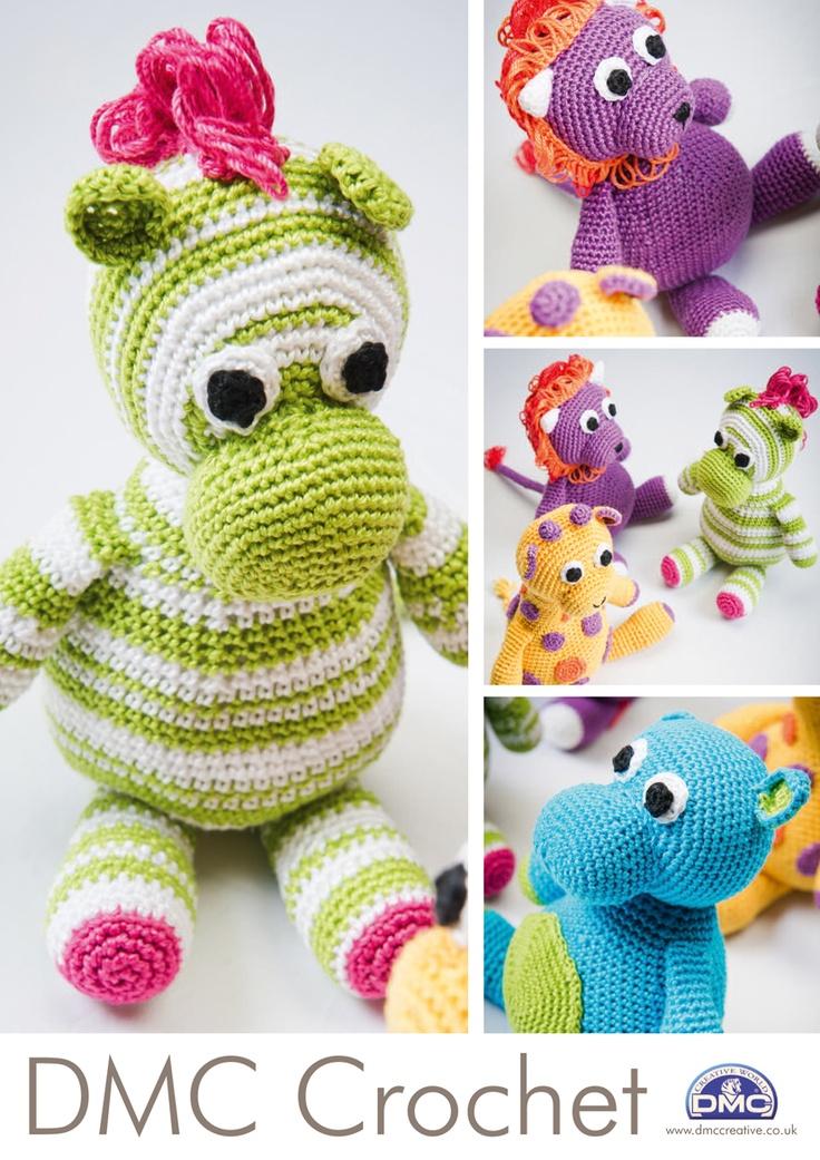 DMC Crochet Pattern Booklet - Amigurumi Toy Patterns
