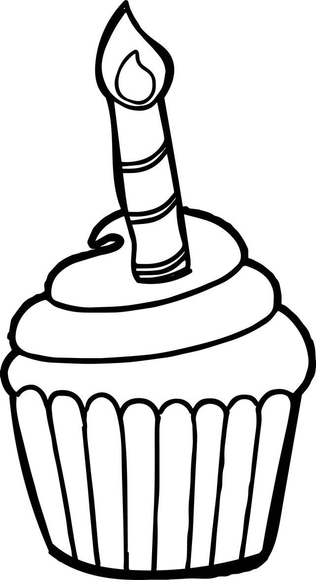 21 Wonderful Image Of Cupcake Coloring Pages Entitlementtrap Com Cupcake Coloring Pages Birthday Coloring Pages Happy Birthday Coloring Pages