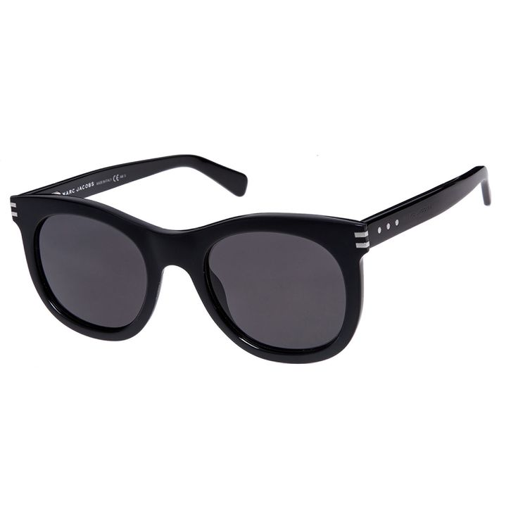"""Marc Jacobs"" Black Preppy Sunglasses - TK Maxx"