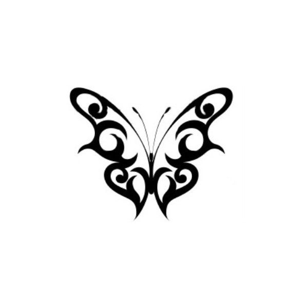 Tattoos: Black Butterfly
