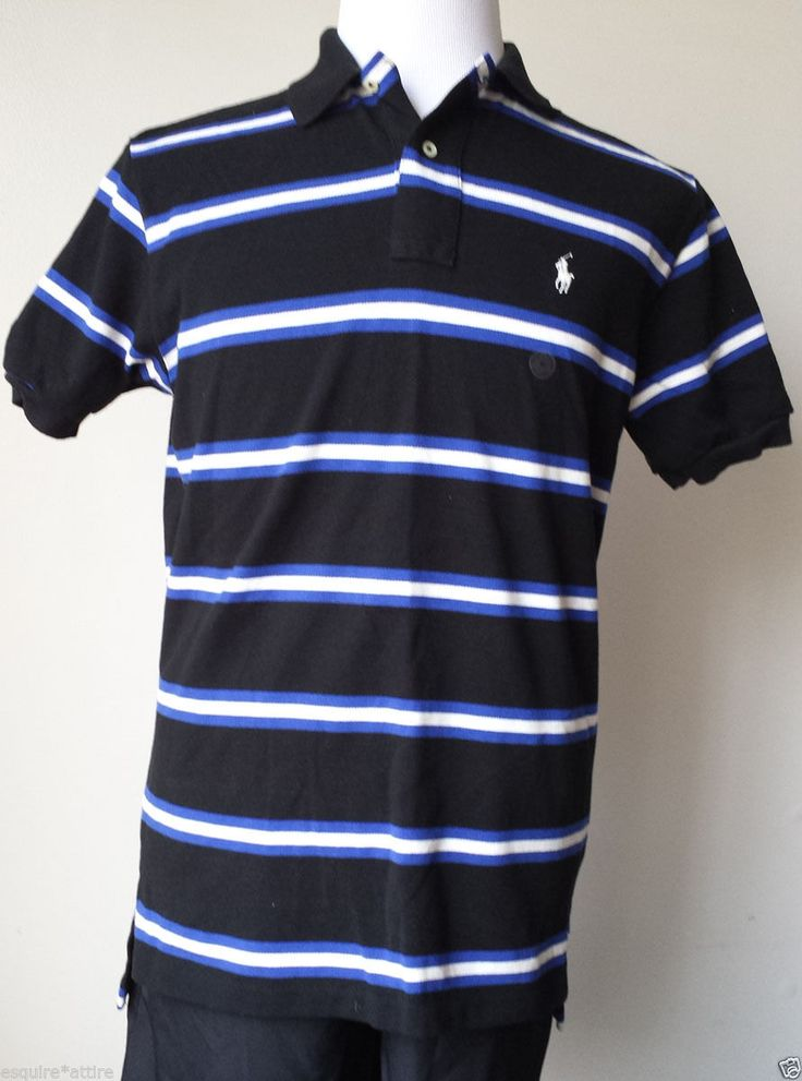 Polo Men Ralph Lauren Darkblue Short Sleeved